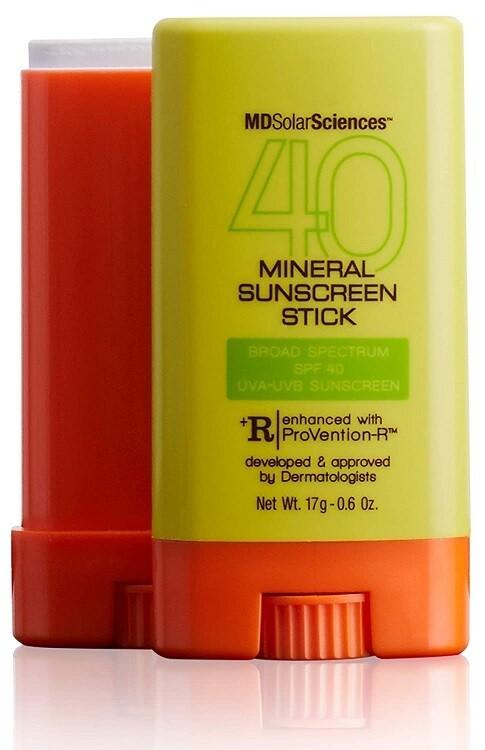 MDSolarSciences Mineral SunScreen Stick SPF 40, 0.6 Ounce