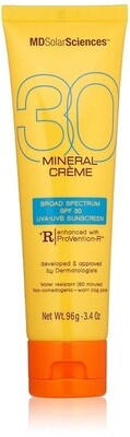 MDSolarSciences Mineral Creme SPF 30, 3.4 Ounce