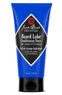Jack Black Beard Lube Conditioning Shave, 6 fl Ounce
