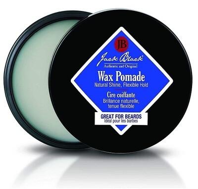 Jack Black Wax Pomade, Great for Beards, 2.75 fl Ounce