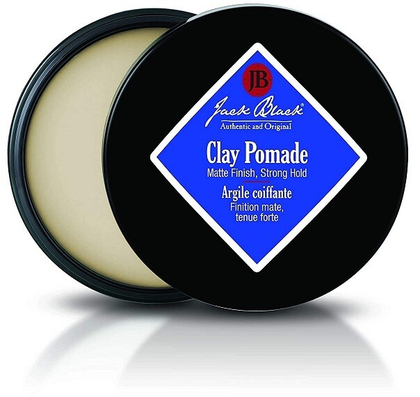 Jack Black Clay Hair Pomade, 2.75 Ounce