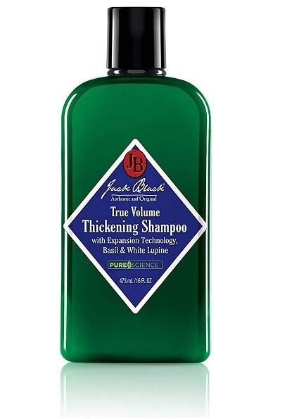 Jack Black True Volume Thickening Hair Shampoo, 16 fl Ounce