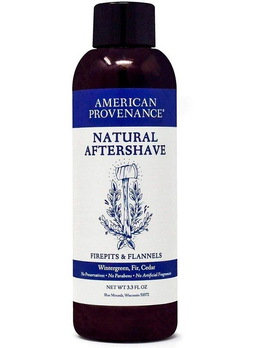 American Provenance Aftershave Firepits Flannels, 3.3 fl Ounce