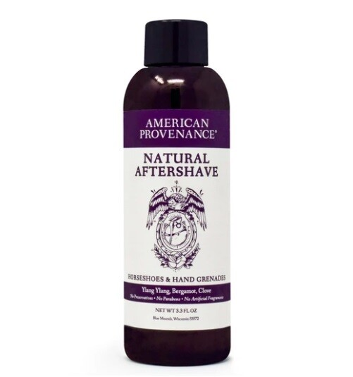 American Provenance Aftershave Horseshoes Hand Grenades, 3.3 fl Ounce