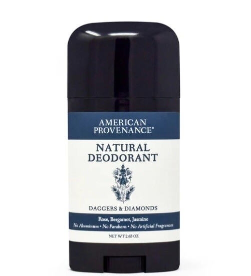 American Provenance Natural Womens Deodorant, Daggers and Diamonds, 2.65 Ounce