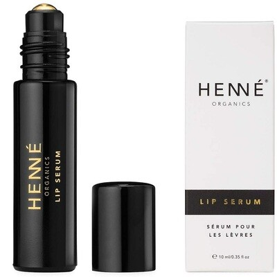 Henne Organics Lip Serum, Antioxidant Oil Treatment for Smooth and Firm Lips, 0.35 fl Ounce