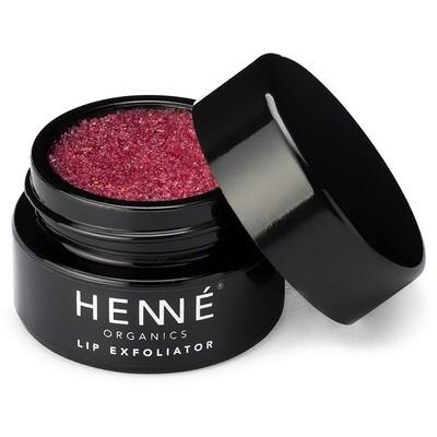Henne Organics Lip Exfoliator, Natural and Organic Sugar Scrub, Nordic Berries, 0.35 fl Ounce