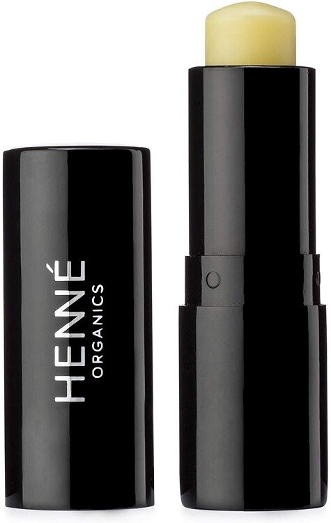 Henne Organics Luxury Lip Balm, Natural and Organic Moisturizer, 0.17 fl Ounce