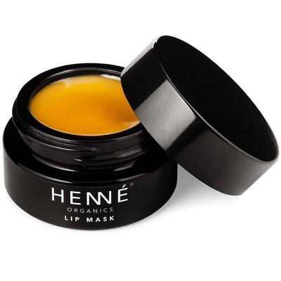 Henne Organics Lip Mask, Natural Organic Moisturizer Treatment for Plump Lips, 0.51 fl Ounce