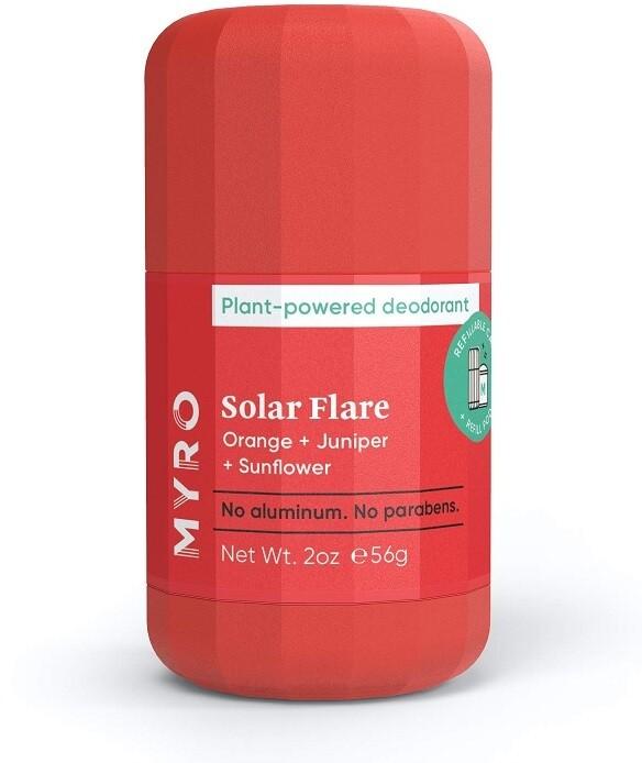Myro Plant Powered Deodorant Solar Flare, 2 Ounce