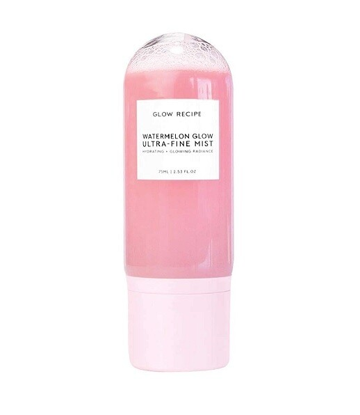 Glow Recipe Watermelon Glow Hydrating Micro-Mist Spray for Face, 2.5 fl Ounce