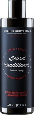 Polished Gentleman Beard Growth and Thickening Conditioner, 4 fl Ounce