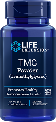 Life Extension TMG (Trimethylglycine) Powder, 50 Gram