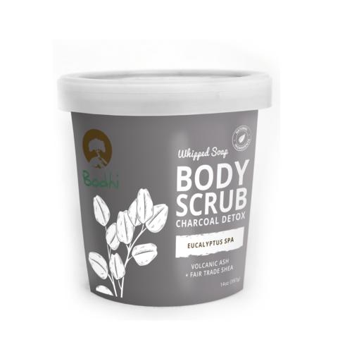 Bodhi Eucalyptus Spa Whipped Body Scrub, 14 Ounce