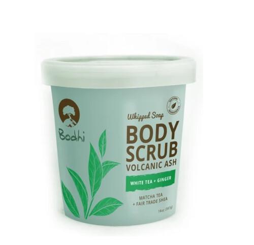 Bodhi White Tea & Ginger Whipped Body Scrub, 14 Ounce