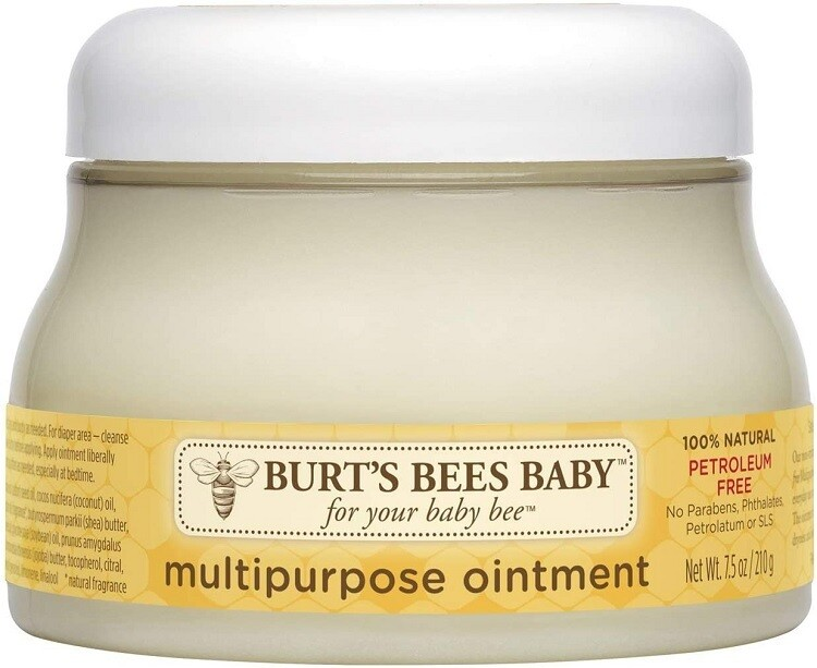 Burt's Bees Baby 100% Natural Multipurpose Ointment, Face and Body, 7.5 Ounce