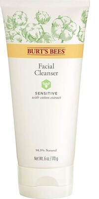 Burt's Bees Face Cleanser for Sensitive Skin, 6 Ounce