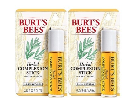 Burt's Bees Herbal Complexion Stick, Pack of 2
