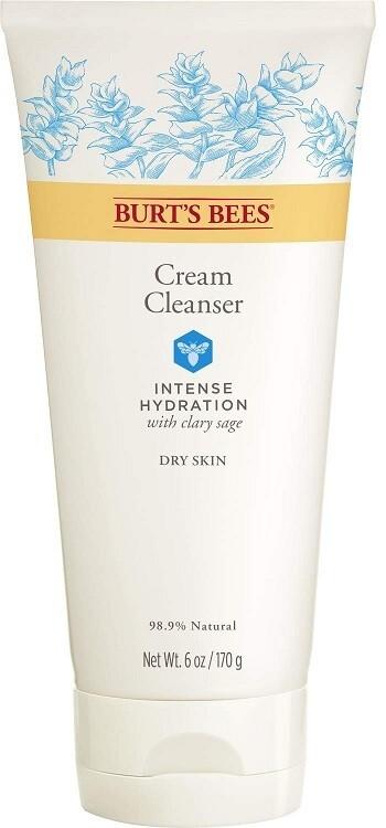 Burt's Bees Intense Hydration Cream Cleanser, 6 Ounce
