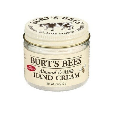 Burt's Bees Almond and Milk Hand Cream, 2 Ounce