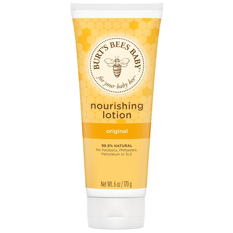 Burt's Bees Baby Nourishing Lotion, 6 Ounce