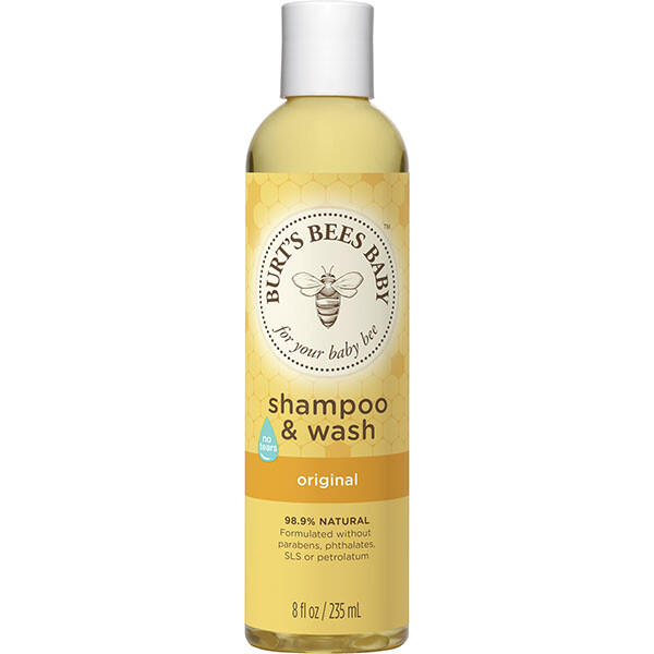 Burt's Bees Baby Shampoo and Wash, Original, 8 Ounce