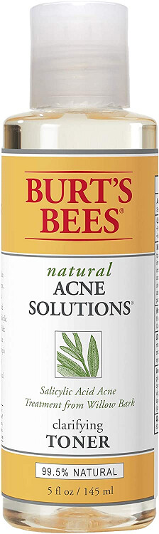 Burt's Bees Natural Acne Solutions Clarifying Toner, 5 Ounce