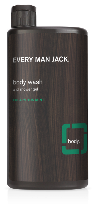 Every Man Jack Body Wash, Eucalyptus Mint, 16.9 Ounce