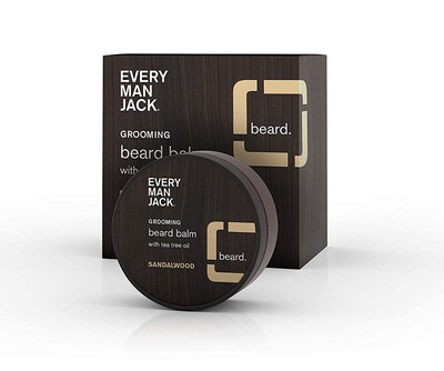 Every Man Jack Sandalwood Beard Balm, 2 Ounce