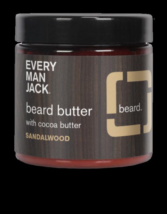 Every Man Jack Sandalwood Beard Butter, 4 Ounce