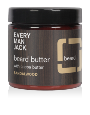 Every Man Jack Sandalwood Beard Butter, 4 Ounce