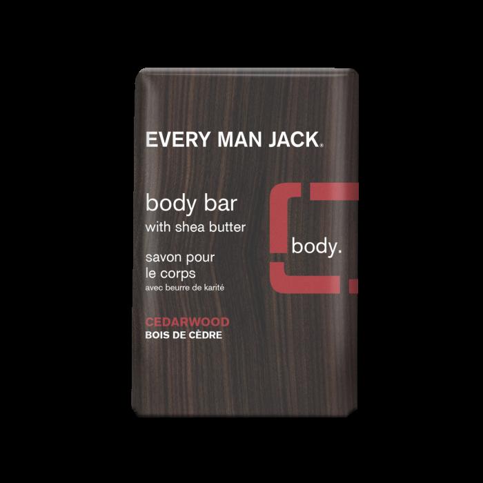 Every Man Jack Cedarwood Body Bar, 7 Ounce