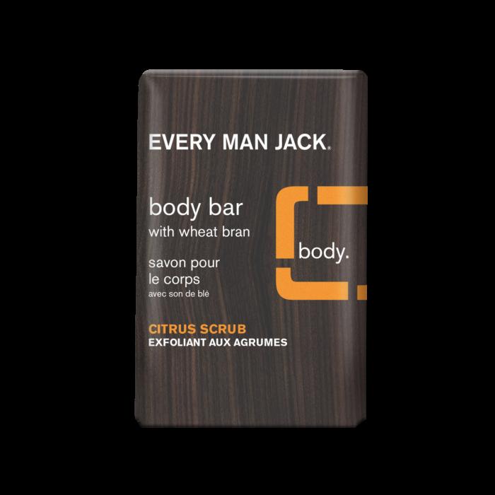 Every Man Jack Citrus Scrub Body Bar, 7 Ounce