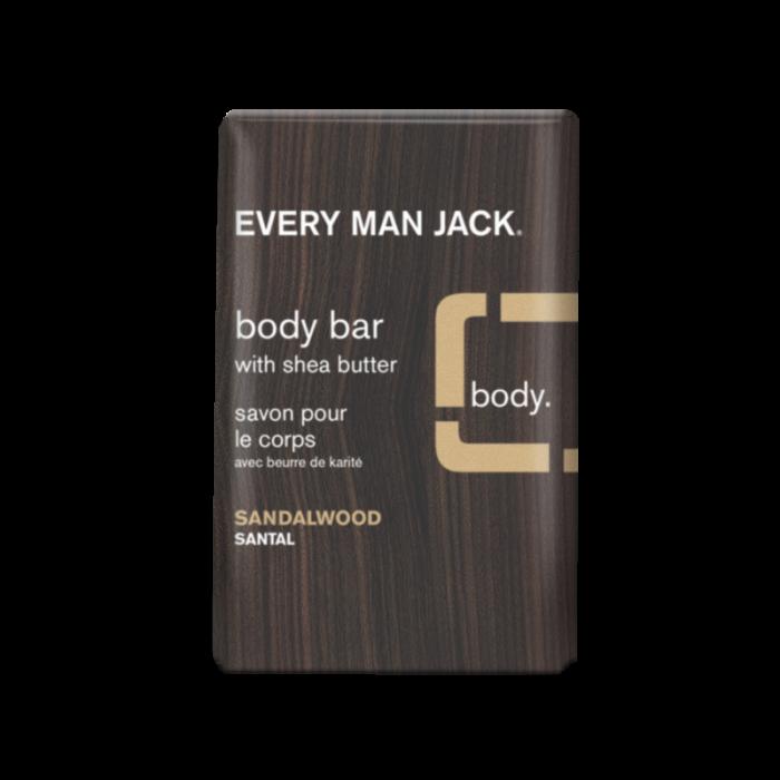 Every Man Jack Sandalwood Body Bar, 7 Ounce