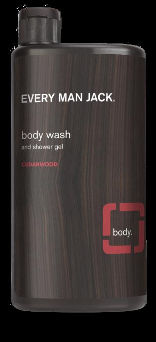 Every Man Jack Body Wash and Shower Gel, Cedarwood, 16.9 Ounce