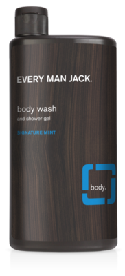 Every Man Jack Body Wash, Signature Mint 16.9 Ounce