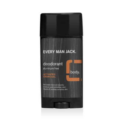 Every Man Jack Deodorant, Activated Charcoal, 2.7 Ounce