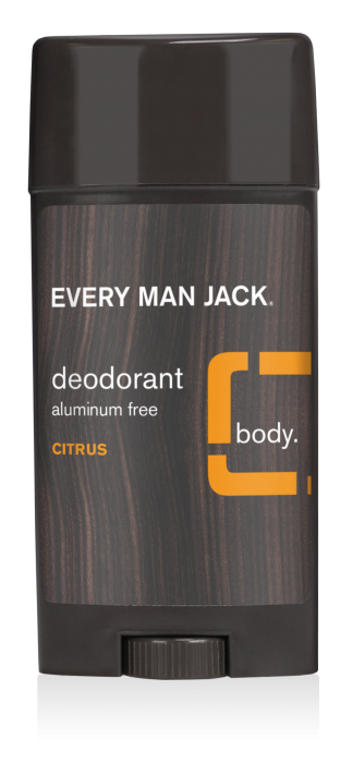 Every Man Jack Deodorant, Citrus, 3 Ounce