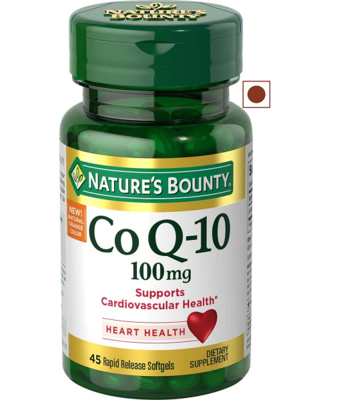 Nature's Bounty CoQ10 for Heart Health, 45 Softgels