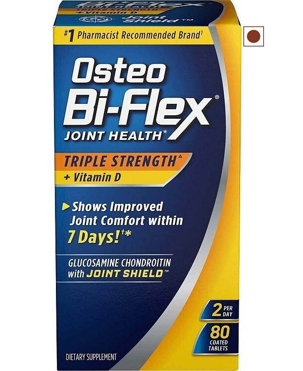 Osteo Bi-Flex Joint Health Triple Strength Vitamin D, 80 Coated Tablets