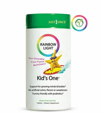 Rainbow Light Kids One Multivitamin, 30 Tablets