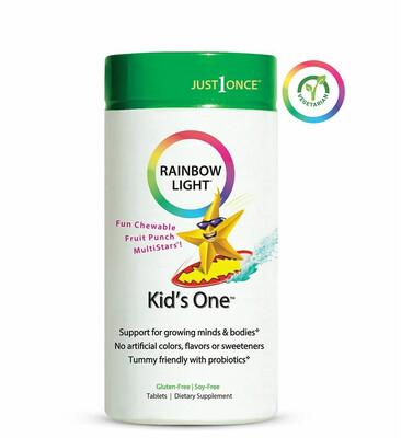Rainbow Light Kids One Multivitamin, 90 Tablets