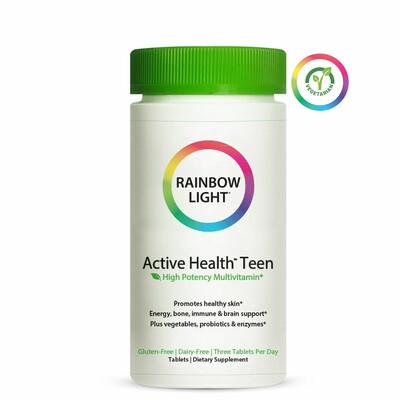 Rainbow Light Active Health Teen Multivitamin, 90 Tablets