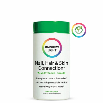 Rainbow Light Nail, Hair and Skin Connection Multivitamin, 60 Tablets