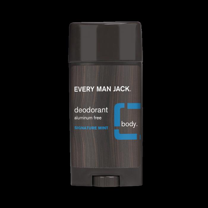 Every Man Jack Deodorant, Signature Mint, 3 Ounce