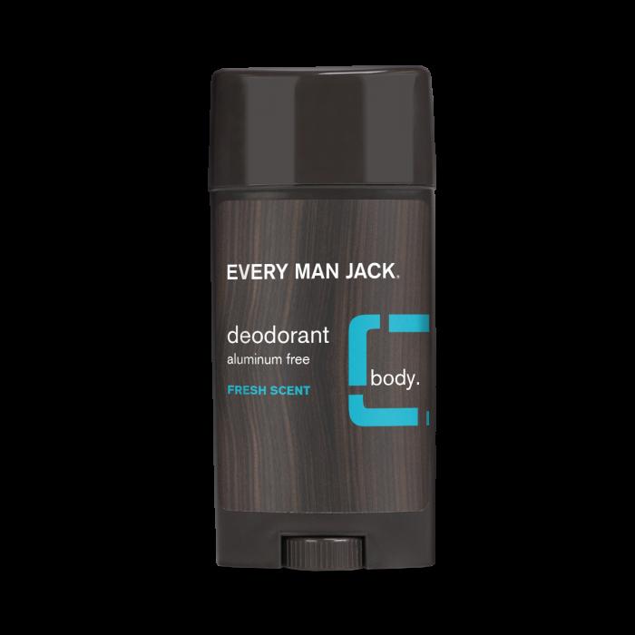 Every Man Jack Body Deodorant, Fresh Scent, 3 Ounce