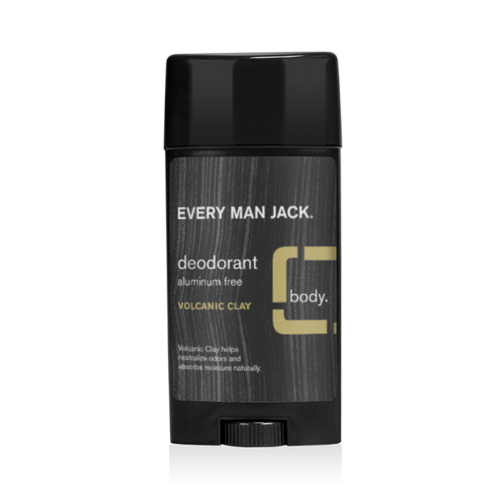 Every Man Jack Deodorant, Volcanic Clay, 2.7 Ounce