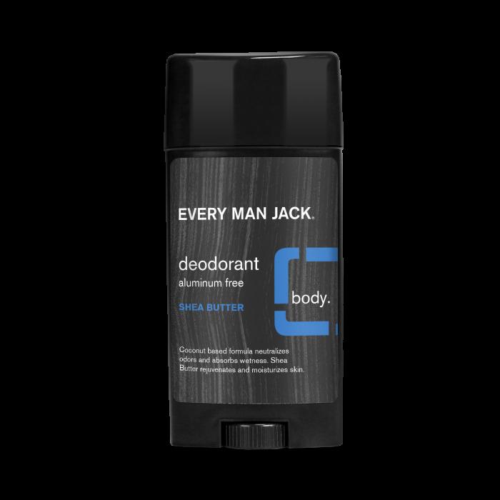 Every Man Jack Deodorant, Shea Butter, 2.7 Ounce