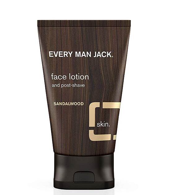 Every Man Jack Face Lotion, Sandalwood, 4.2 Ounce