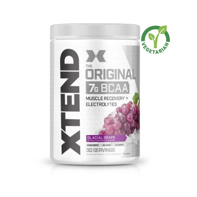 Scivation Xtend Original Bcaa, Glacial Grape, 30 Servings